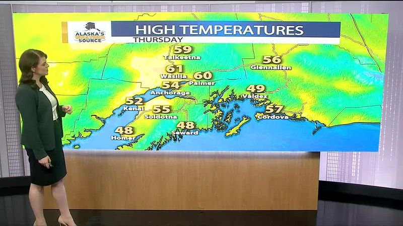 Thursday weather update from Meteorologist Melissa Frey.