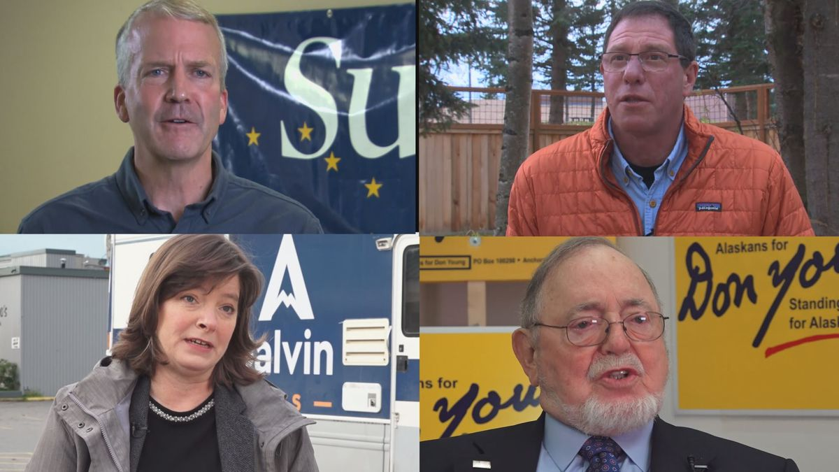 Millions of dollars are pouring in to support Alaska's candidates for Congress.