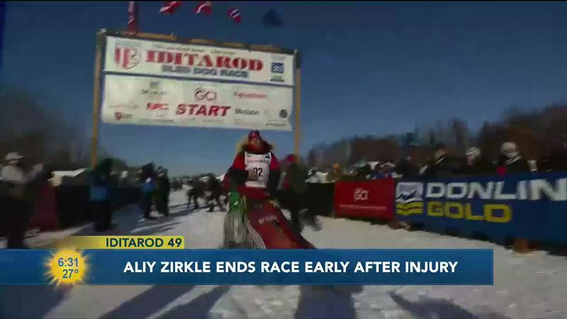 The biggest news over the last 24 hours is that Aliy Ziekle suffered an injury on the trail...