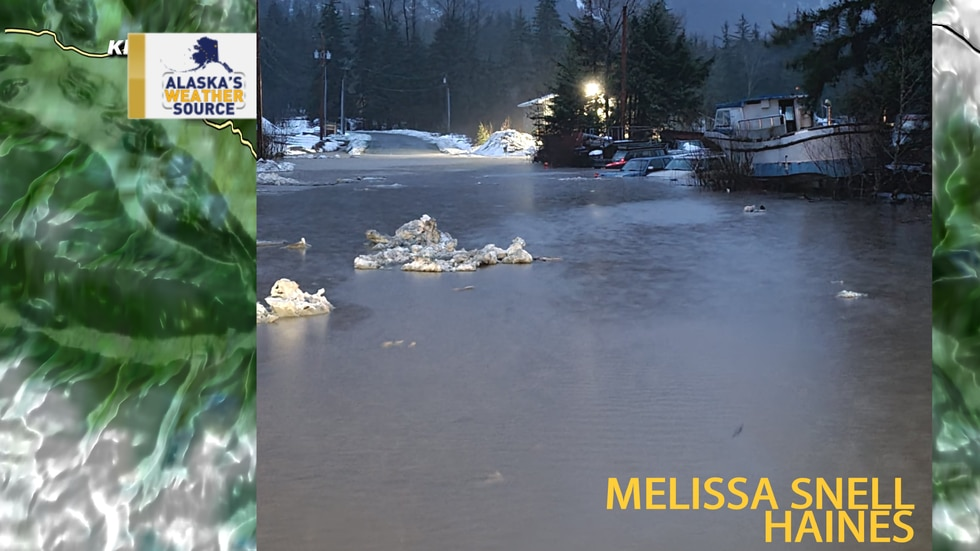 Flooding across Southeast Alaska. Photo from Melissa Snell.