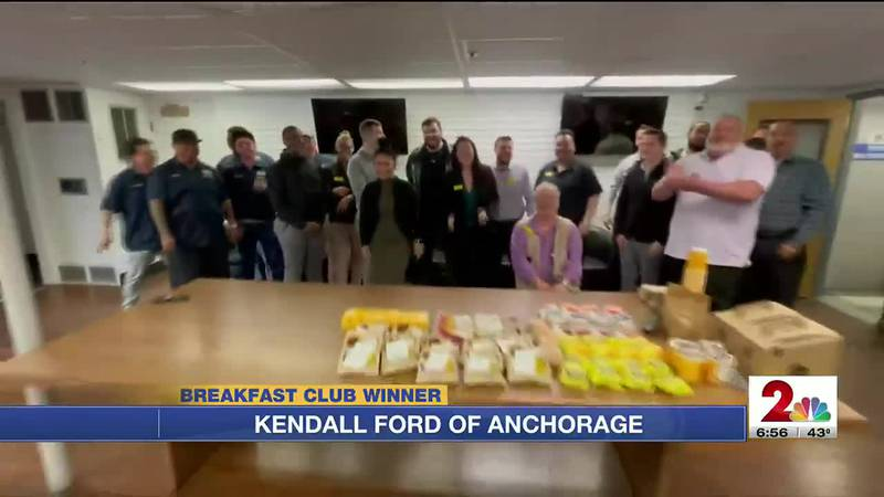 Breakfast Club: Kendall Ford of Anchorage