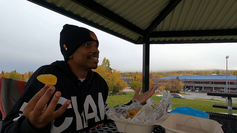 Justin Williams sits down with some food from Da J3rk spot to talk about how the pandemic...