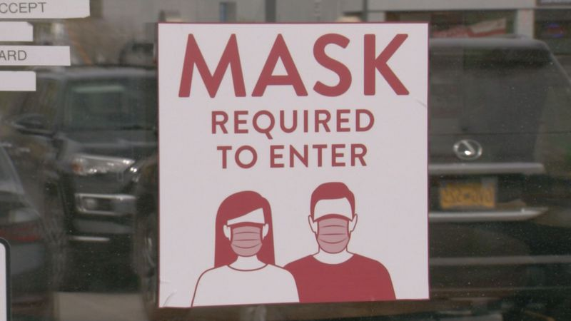 Some Anchorage businesses still require masks to enter.
