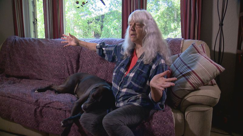 Kathy Newman was attacked by a moose in Portage Valley. It landed her in the hospital for four...