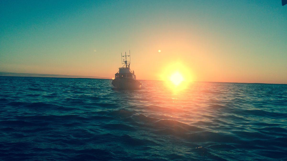 Kvichak Bay in April, 2019 (Photo courtesy of Captain Kyle)
