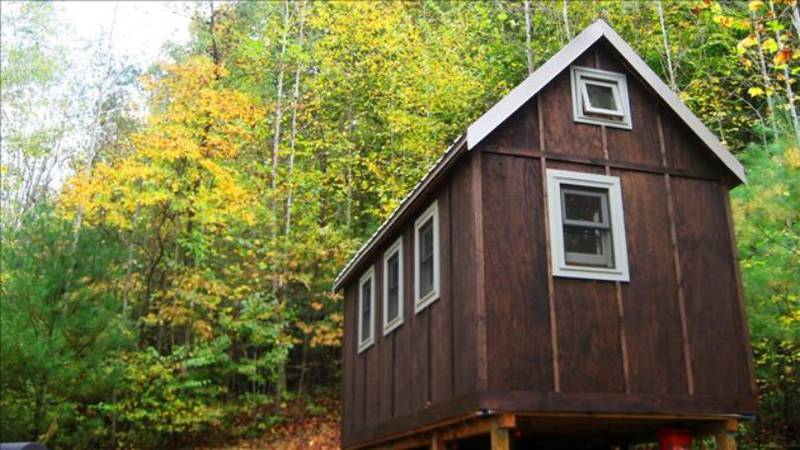 File photo: A New Tiny Home village could help house homeless veterans in Louisville / Source:...