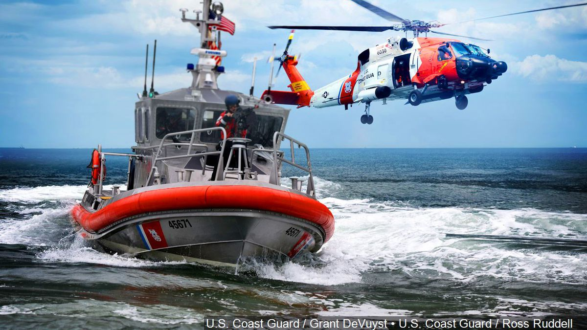 Coast Guard responds to at least 30 in distress (Image License Photo: U.S. Coast Guard / Grant DeVuyst Photo: U.S. Coast Guard / Ross Ruddell)