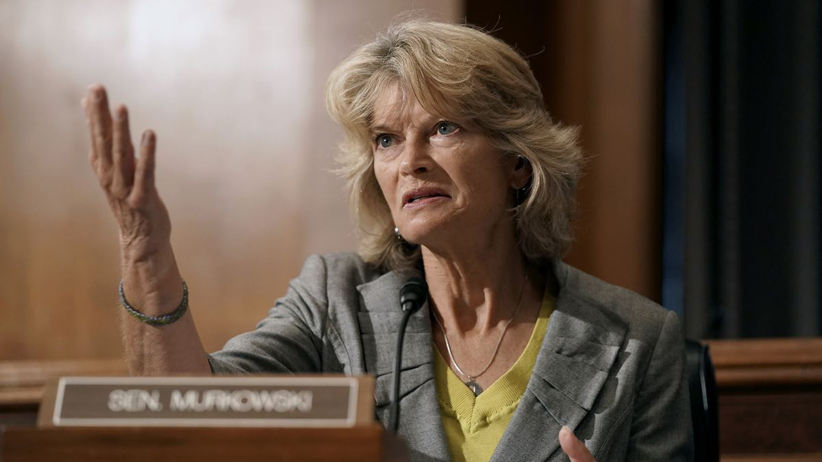 Sen. Lisa Murkowski, R-Alaska, speaks during a Senate Health, Education, Labor and Pensions...