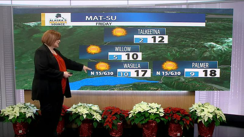 The new year will start with clear and cold conditions across much of the state.