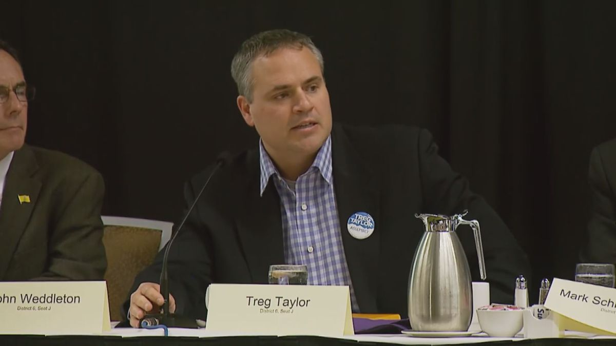The governor appointed Treg Taylor to be Alaska's attorney general.