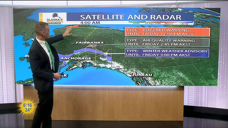 Friday, March 5 Morning Weather
