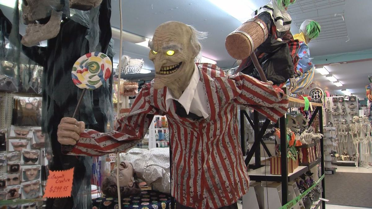 Party store predicts this will be a big year for Halloween sales.