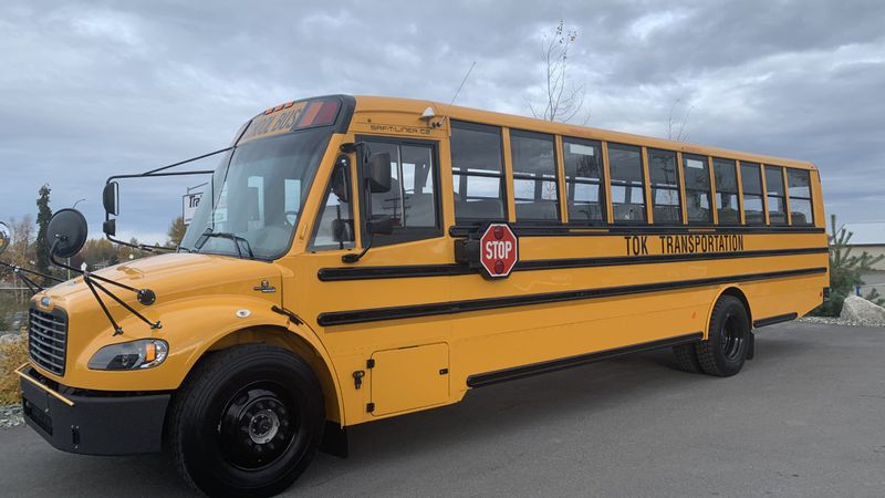 Alaska's first electric school bus is headed to Tok.