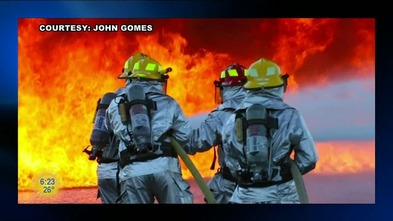 John Gomes took to photography after a long career as a firefighter. Now one of his pictures is...