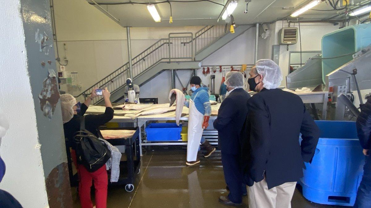 Alaska and Louisiana are formalizing a partnership to market seafood together.