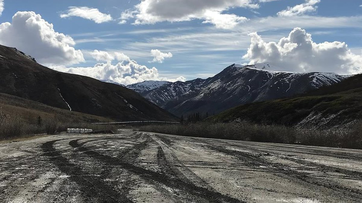 The Dalton Highway extends north from Fairbanks to the North Slope of Alaska. (KTUU)