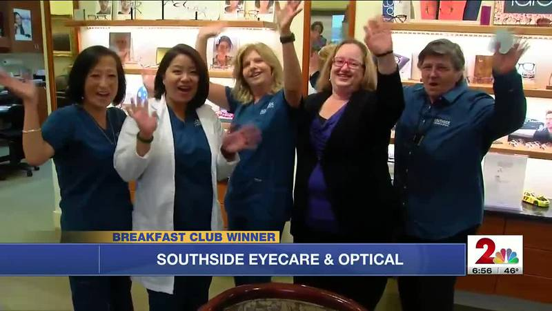 Congratulations to this week's breakfast club winner, Southside Eyecare and Optical.