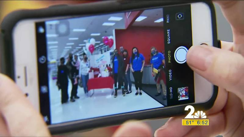 10-year old Lauren Guice takes her entire family on a shopping spree at Target.
