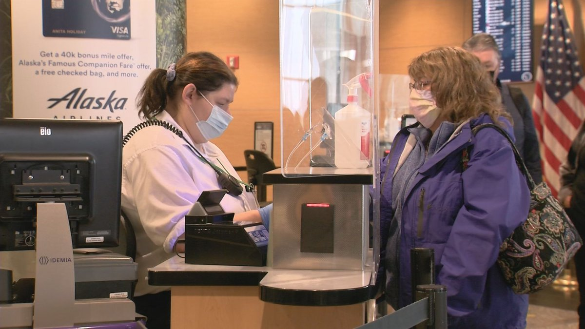 The director of the Anchorage airport says he knows of no COVID-19 cases that have spread from...