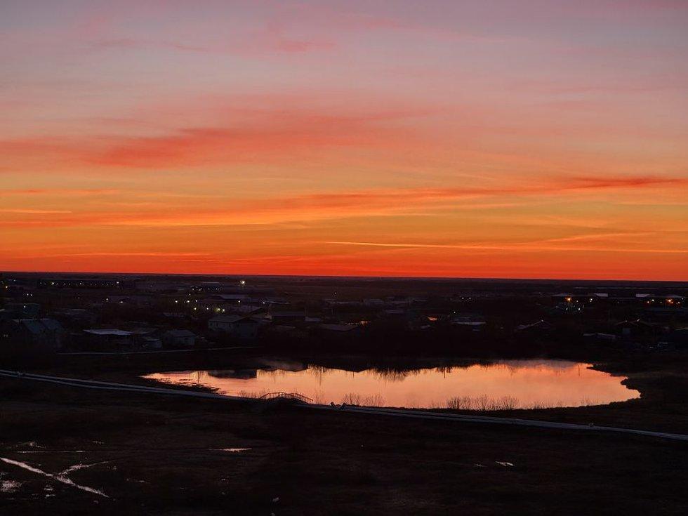 Bethel-Kuskokwim river sunrise - Christopher Feagle 5-24-21
