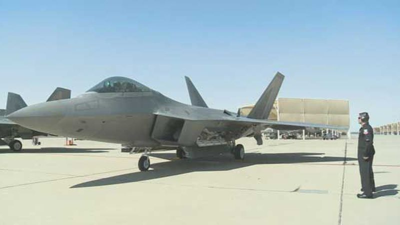 The F-22 Raptor is the Air Force's newest fighter aircraft. (Source: US Air Force Air Combat...
