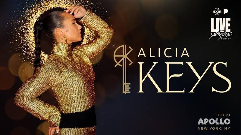 Alicia Keys Returns to the Apollo to Perform One Night Only Special for SiriusXM and Pandora