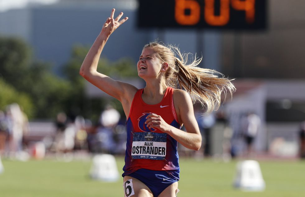 'The hardest thing I've done': Alaska running standout Allie Ostrander opens up about entering treatment for eating disorder