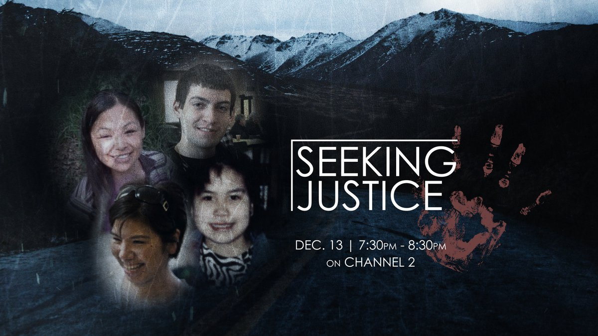 Seeking Justice premieres at 7:30 p.m. on Channel 2.