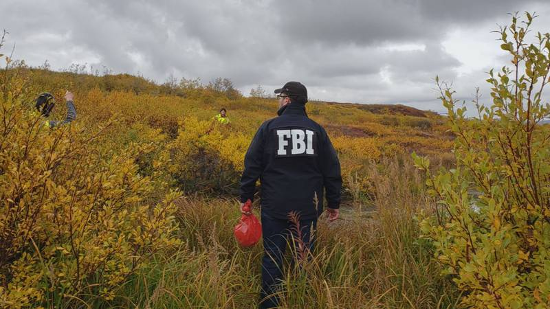 FBI agents help in the search for Florence Okpealuk, missing in Nome since August 30.