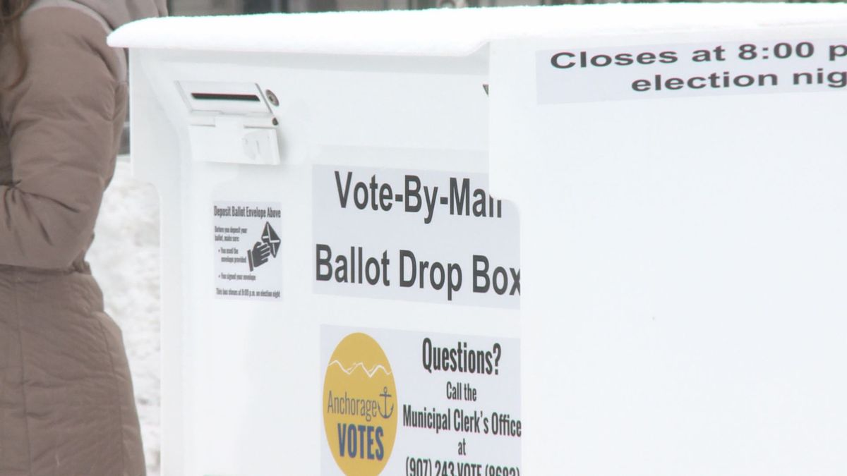Anchorage voters can cast their ballots by mail, or by dropping their ballots into approved ballot boxes around Anchorage. (KTUU)