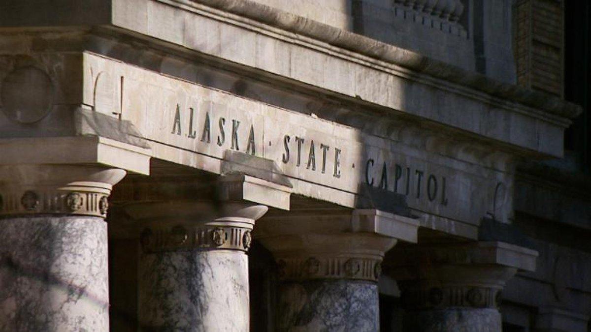 The Alaska Capitol building in Juneau.
