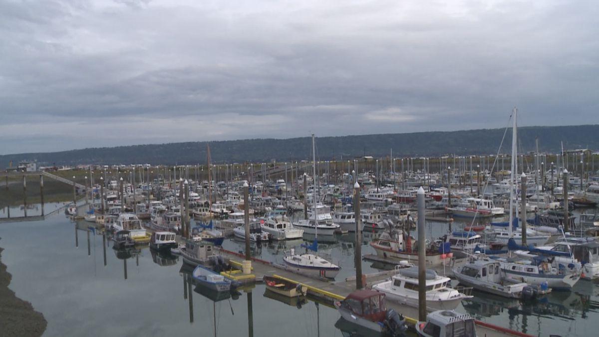 Boat yard in Homer, AK