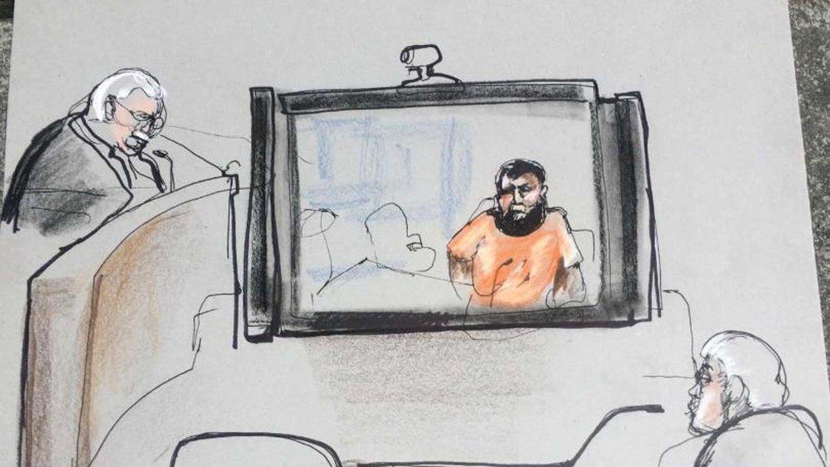 Kenneth Manzanares Sketch by Melanie Lombard