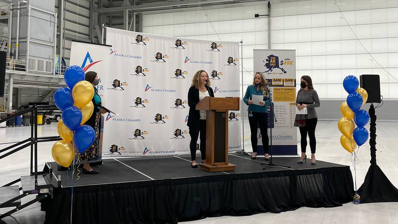 The state and Alaska Chamber announced an incentive program to encourage Alaskans to get...