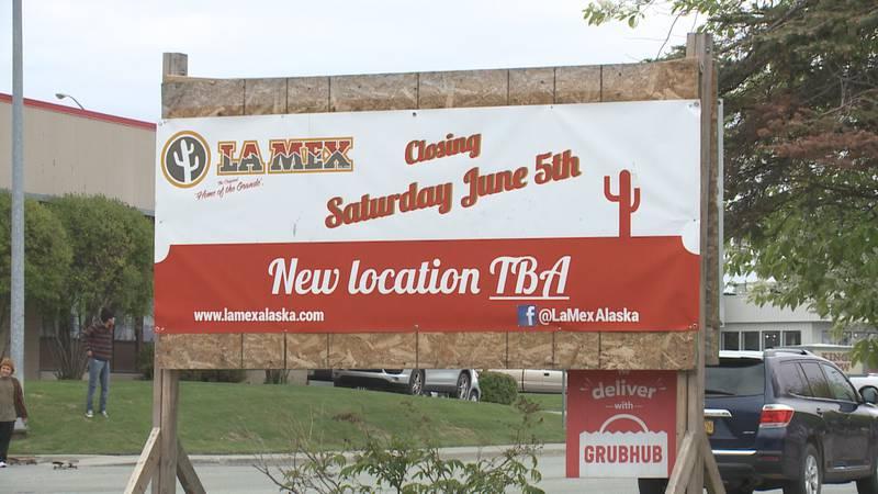 La Mex restaurant will close to the public on Saturday.