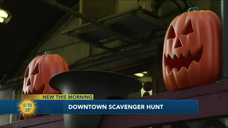 The Anchorage Downtown Partnership is hosting a Scavenger Hunt to provide a little Halloween...