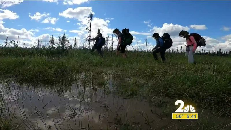 For this edition of Road Trippin' the KTUU crew tackles an 11 mile hike into Tolovana Hot...