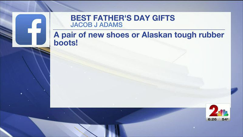 Getting the viewers opinion on what makes for a great Father's Day gift to give or receive.