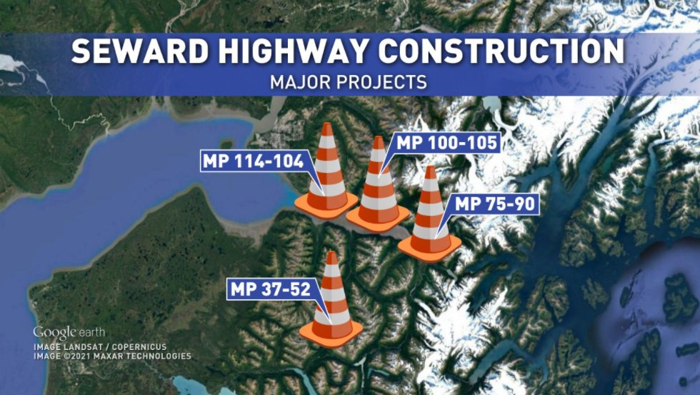 Construction projects planned for the summer could cause delays.