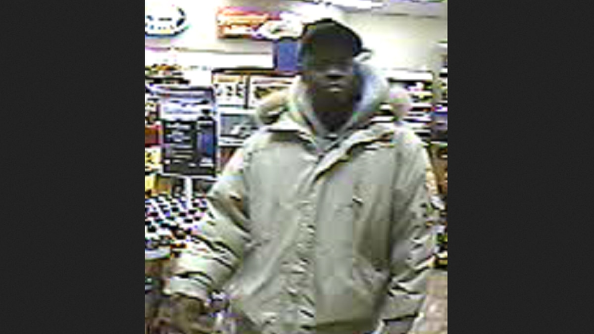 Police are still looking for this man who may have information about a homicide.