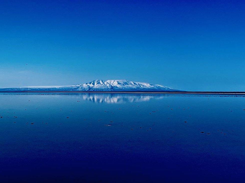Mount Susitna or Sleeping Lady Mountain - Kelsie Wright