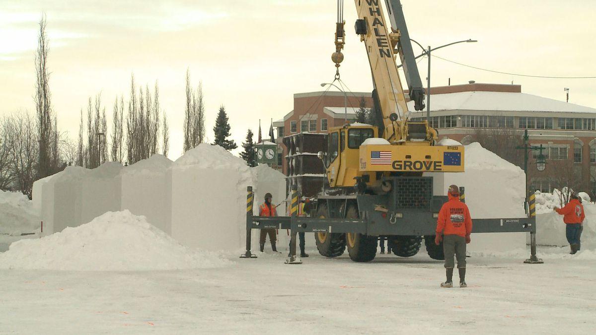 Alaska State Snow Sculpture Competition
