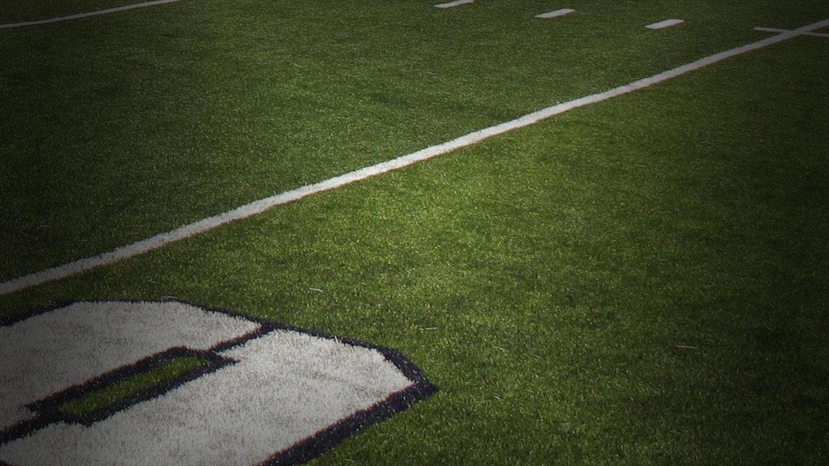 Football field.