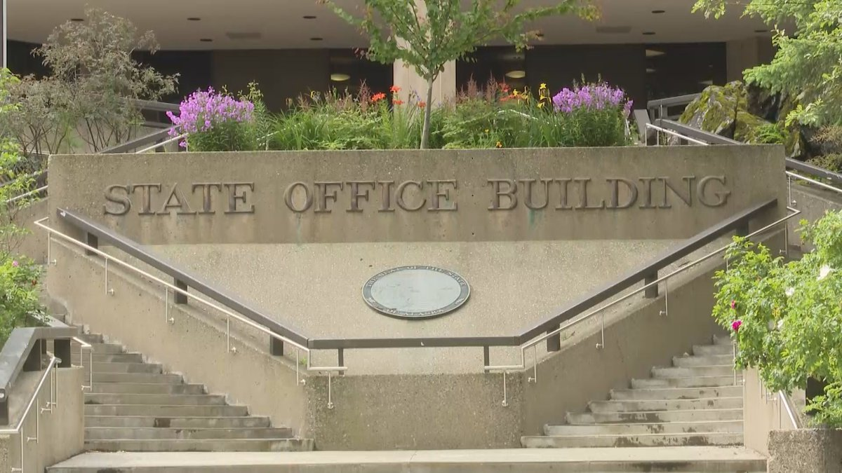 Alaska state employees will again be teleworking as the state sees record numbers of new...
