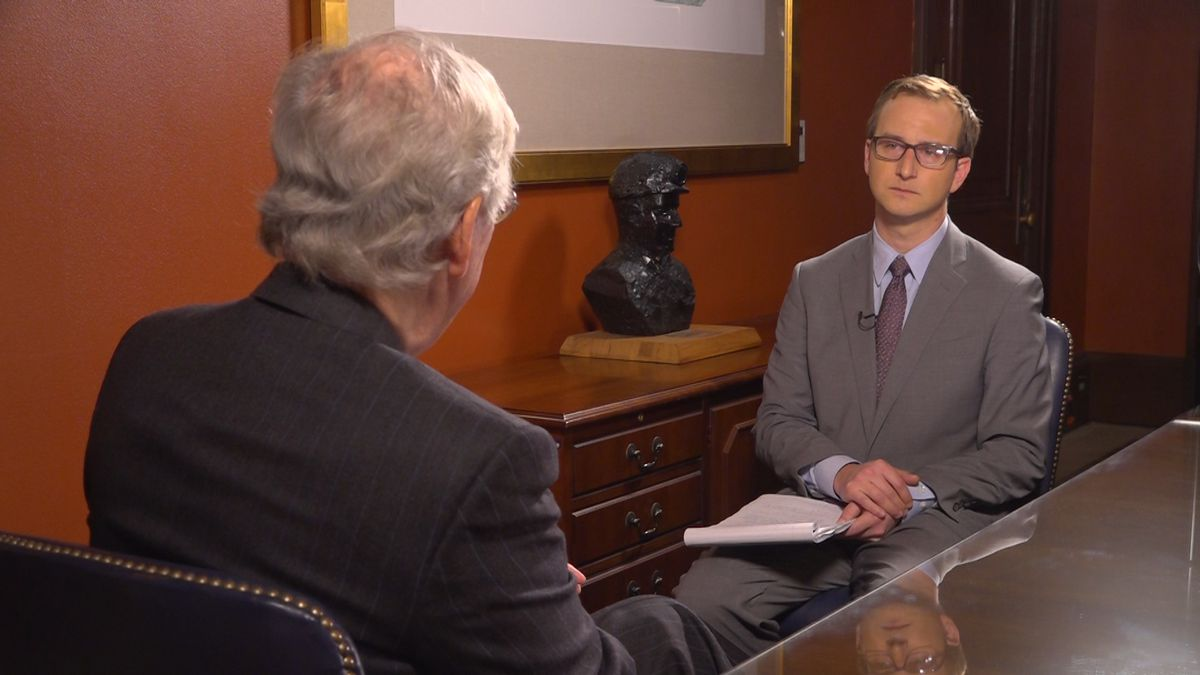 Senate Majority Leader Mitch McConnell (R-KY) sits down to discuss historic week in D.C. with Washington Correspondent Kyle Midura. (Source: Gray DC)
