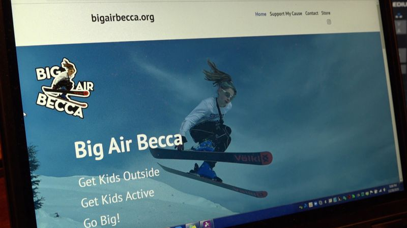 The homepage of Rebecca Tyler's public service project, Big Air Becca. A site dedicated to...