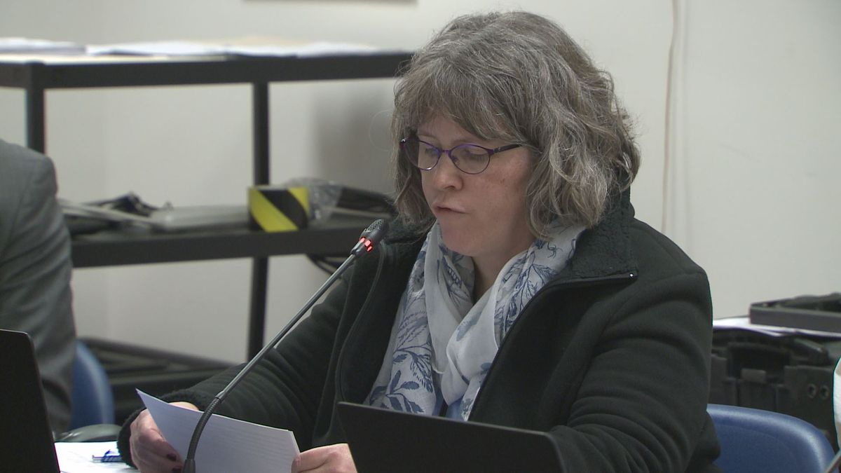 Erika McConnell at a Marijuana Control Board meeting on Nov. 13, 2019.