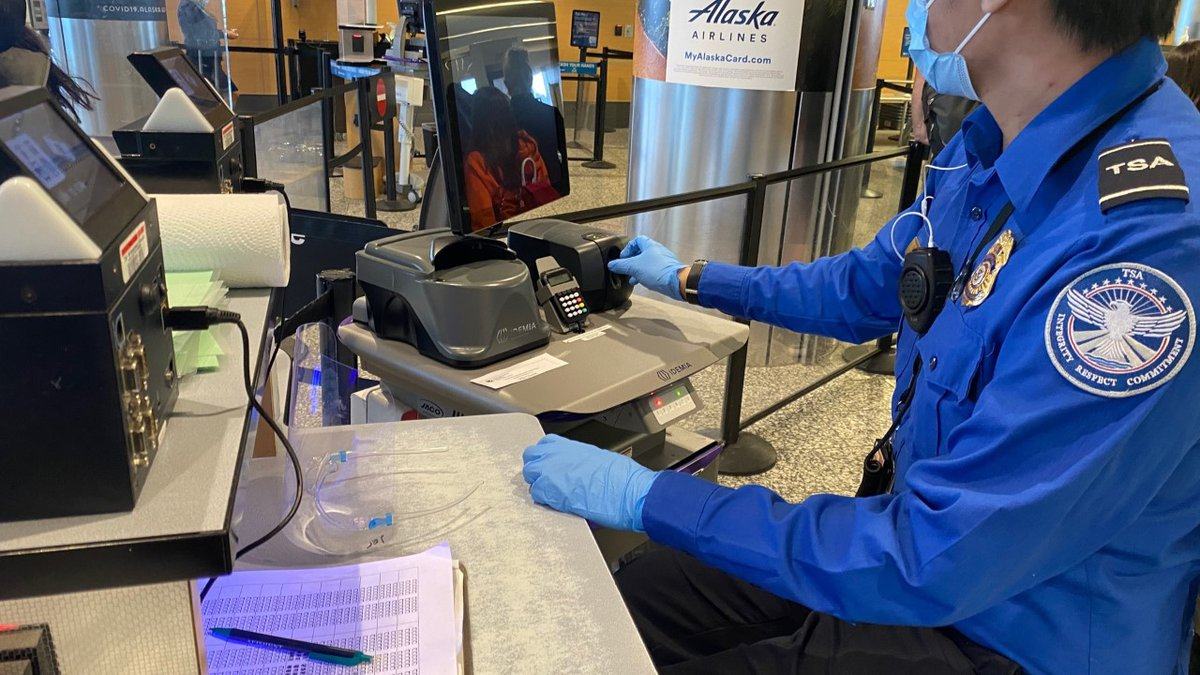 14 airports across Alaska looking to hire 170+ TSA Officers before summer 2021, $1,000...