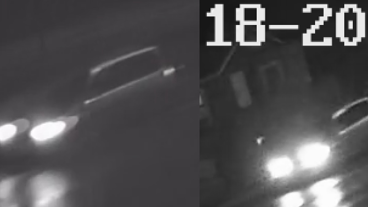 A vehicle being sought by Anchorage police, as its occupants may have witnessed a hit and run...