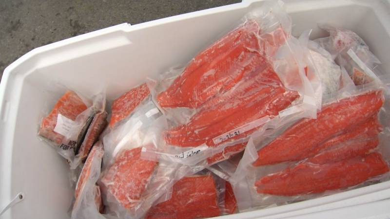 Covenant House is taking donated salmon for an upcoming feast on Indigenous Peoples' Day.